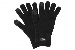 RĘKAWICE PUMA knit gloves Puma Black-N.1 LOGO