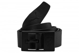 Pasek SF LS Leather Belt Ferrari