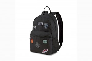 plecak PUMA Patch Backpack Puma Black