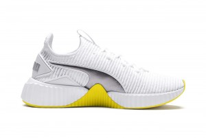 Buty Defy TZ Wn s Puma White-Blazing Yellow