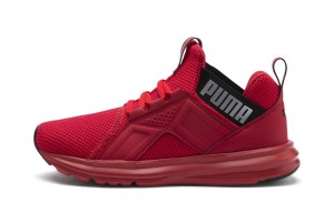 Buty Enzo Weave Jr High Risk Red-Puma Black