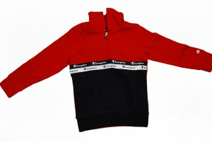 BLUZA Hooded Half Zip Sweatshirt