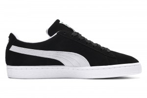 Buty Suede Classic Eco black-white