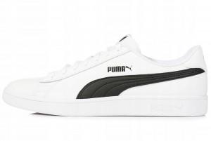 Buty Puma Smash v2 L Puma White-Puma Black