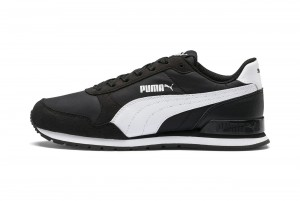 Buty ST Runner v2 NL Jr Puma Black-Puma White