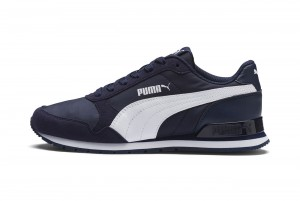 Buty ST Runner v2 NL Jr Peacoat-Puma White