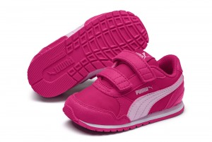 Buty ST Runner v2 NL V PS Fuchsia Purple-Pale