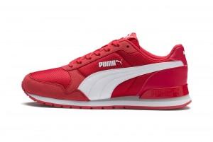 Buty ST Runner v2 Mesh JR Hibiscus -Puma Whit