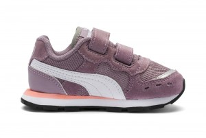 Buty Vista V Inf Elderberry-Puma White