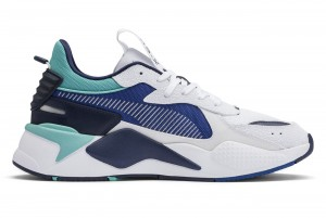 Buty RS-X Hard Drive Puma White-Galaxy Blue