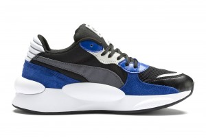 Buty RS 9.8 Space Jr Puma Black-Galaxy Blue