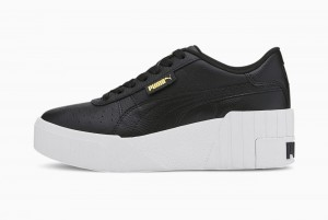 buty Cali Wedge Wn s Puma Black-Puma Whi
