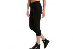 Spodnie Essential 3/4 Tight Puma Black