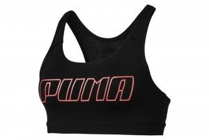 Stanik 4Keeps Bra M Puma Black-Bright Peach PUM