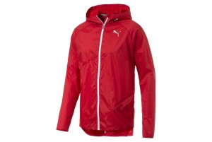 Kurtka Lightweight Hooded Jacket High Risk Red