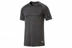Koszulka Energy Seamless Tee Puma Black Heather