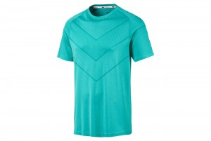 Koszulka Reactive evoKNIT Tee Blue Turqu