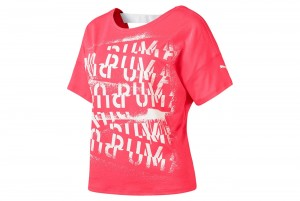Koszulka HIT Feel It Tee Pink Alert