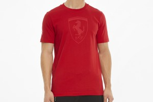 Koszulka Ferrari Race Big Shield Tee ton