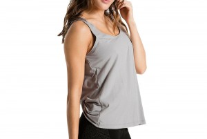 Top Evo Tank Top Light Gray Heather