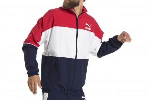 Kurtka Retro Woven Track Jacket