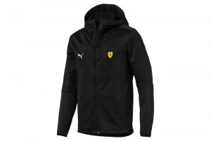 Kurtka SF Street Softshell Jacket Puma Black He