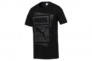 Koszulka Graphic Brand Box Tee Cotton Black