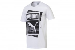 Koszulka Graphic Brand Box Tee Puma White
