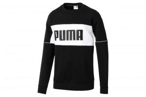 Bluza Retro Crew dk Puma Black