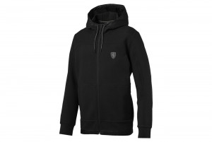 Bluza Ferrari Hooded Sweat Jacket Puma Black