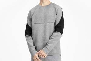 Bluza Evostripe Crew Medium Gray Heather