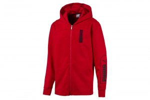 Bluza NU-TILITY FZ Hoody High Risk Red