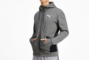 Bluza Modern Sports FZ Hoody FL Medium Gray He
