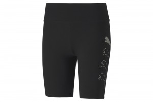 "Szorty Rebel 7"" Short Tight Puma Black-Gold Sil"