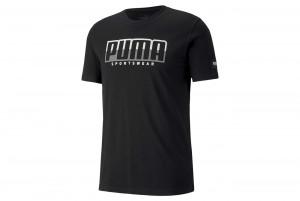 Koszulka ATHLETICS Tee Big Logo Puma Black-Puma W