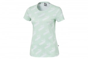 Koszulka Amplified AOP Tee Mist Green