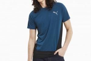 koszulka EVOSTRIPE Tee Digi-blue