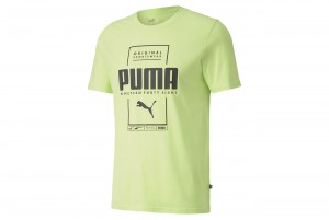 koszulka Box PUMA Tee Sharp Green