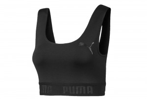 Top ACTIVE ESS Banded Crop Top W