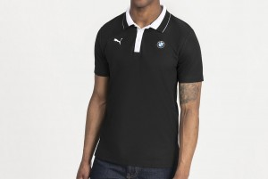 Koszulka polo BMW MMS Polo Puma Black