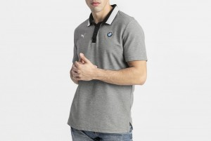 Koszulka polo BMW MMS Polo Medium Gray Heather