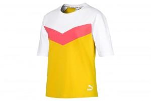 Koszulka PUMA XTG Colorblock Tee Sulphur