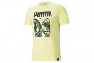 Koszulka PUMA INTL Tee Yellow Pear