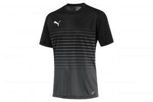 Koszulka ftblPLAY Graphic Shirt Asphalt-Puma Blac