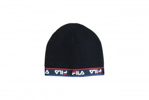 Czapka KIDS BEANIE taped fine knitted
