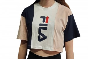 Koszulka KIDS TAMSON blocked cropped tee