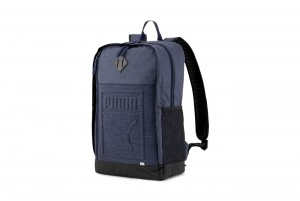 PLECAK PUMA S Backpack Peacoat-Heather