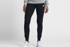 Spodnie W NSW PANT FLC TIGHT