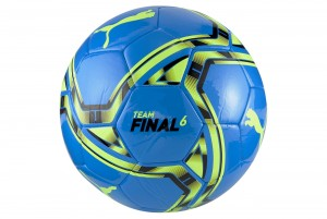 Piłka teamFINAL 21.6 MS Ball Nrgy Blue-Y