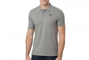 Koszulka Polo ESS Pique Polo Medium Gray Heather